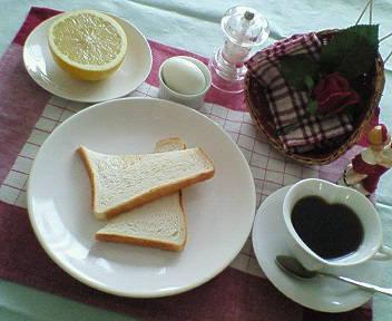 ダイエット中の朝食♪