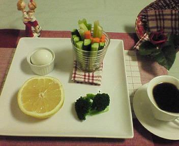 第一日目の夕食♪