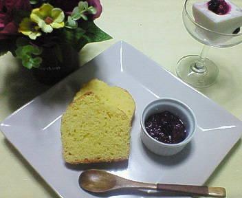 コーンブレッドの朝ごパン♪