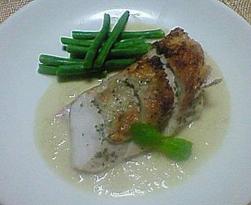 鶏胸肉のグリエ・オニオンソース