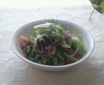 最近、嬉しかった事〜メカブを使ったサラダ!