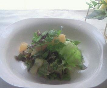 グレープフルーツのトストサラダ☆