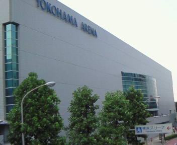 新横浜に着きました♪