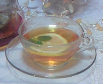 朝の紅茶たいむ・・・♪