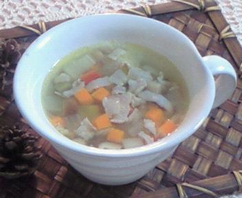 和野菜とお豆さんのミネストローネ♪