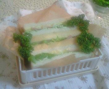 ☆サンドイッチのお弁当☆