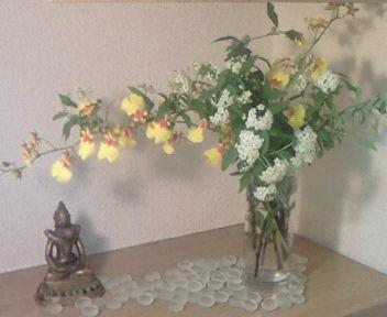 花のある暮らし〜場に活ける〜
