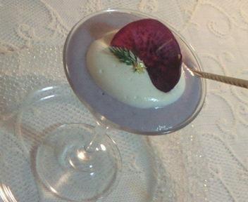 紫芋のムース♪