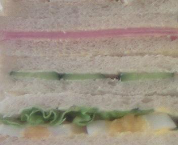 Close de  Sandwich