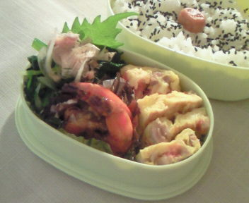 中華風のお弁当。
