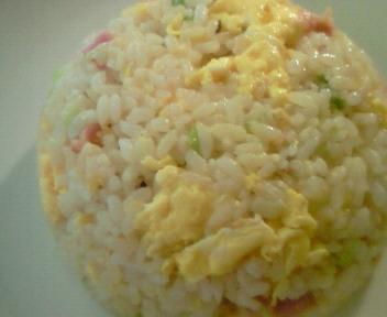 優しい卵チャーハン☆