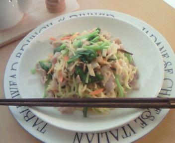 彩り野菜の炒め麺♪