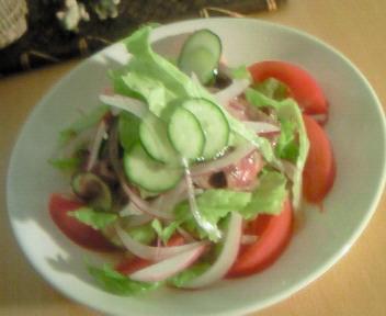 牛肉のたたきサラダ☆