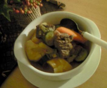 牛肉と野菜のシチュー☆☆