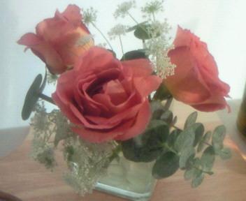 テーブル花のレシピ