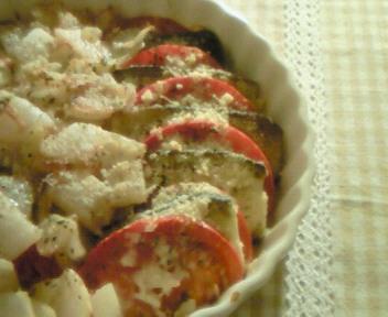 茄子とトマトのハーブグラタン〜オレガノ〜