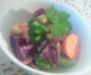 彩り野菜の美人サラダ☆☆☆