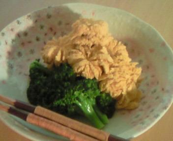 魚の子とブロッコリーの炊き合わせ☆