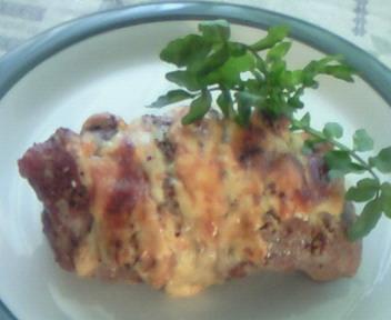 豚肉のチーズグリル☆