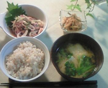 朝ごはん&夜麺〜♪