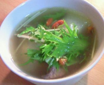 冬瓜と豚バラ肉のデトックススープ☆