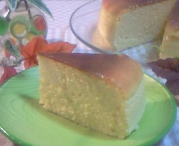 豆乳スフレチーズケーキ☆