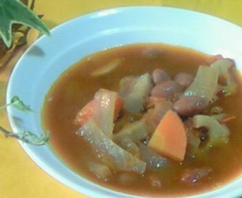 薬膳〜金時豆のトマトシチュー☆