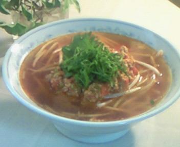 トマト・ラーメン黒酢風味〜♪