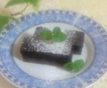 カカオのケーキ☆