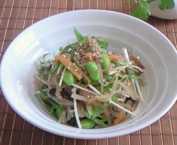 色々野菜のきんぴらサラダ!