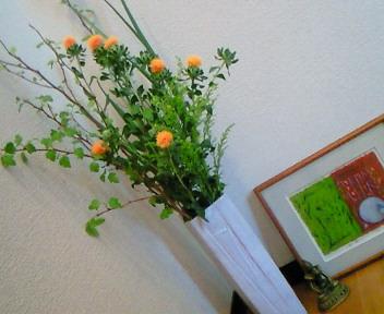 暮らしの中にもっと花を♪
