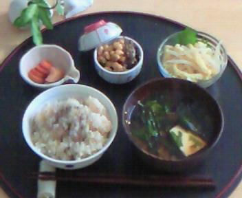 日本の朝ごはん。