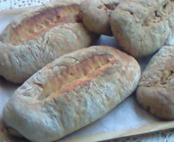 ライ麦パン。