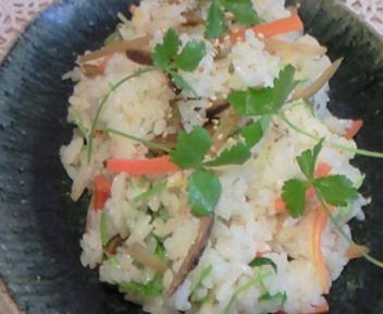 根菜柚子ちらし〜☆レシピを書く。