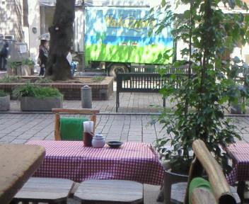 昼下がりのカフェテラス〜♪♪